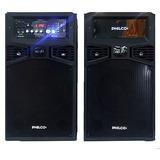 Philco Djp180bt Parlante Estereo 100w Bluetooth Usb Luces Fm