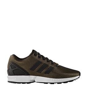 zapatillas adidas zx flux doradas
