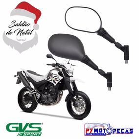 Retrovisor Moto Xt660 Giro 360 Removível Honda Saldao Natal
