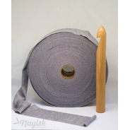 Trapillo Supreme Tejido Crochet Tapete Crafts Gris Jas 90mts