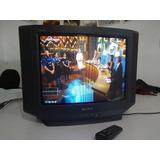 Televisor Sony Trinitron 21 Pulgadas Con Control