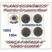 Moedas Onça Pintada E Lobo Guará 1993/1994 Cod-276-a
