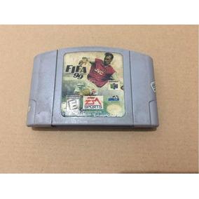 Jogo Em Cartucho Original Fifa 99 Para Nintendo 64