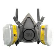 Respirador Reutilizável Semifacial 3m Série 6200 Refil 6003