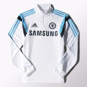 Buzo Chelsea Entrenamiento Adidas 2015 Talle L - Imperdible