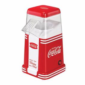 Maquina De Palomitas Nostalgia Retro + 24 Coca Cola De Lata