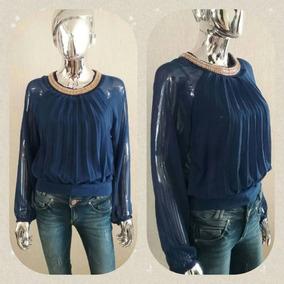 * Elegantes Blusas De Vestir, Gasa, 6 Blusa $1380 *