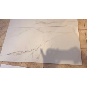 Porcelanato Blanco Carrara 60x120 Rectificado Mate
