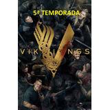 Dvds Serie Vikings 5ª Temporada + Frete Grátis