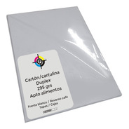 Carton Cartulina Duplex A3 295 Grs 200 Hojas Cajas Tapas