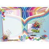 Carpetas Exclusivas Para Fotos Escolares Chicas 15x21