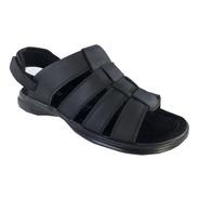 Sandalia Para Hombre 100% Cuero Kc