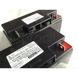 2 Baterias Seladas 12v 18ah Vrla Csp Power No Break Sms