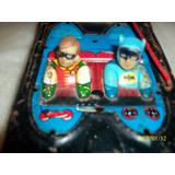 Oferta Lote X 2 Antiguo Batimovil De Batman,con Repuesto