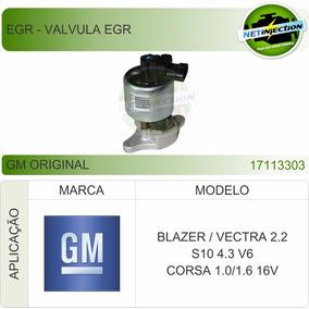 Válvula Egr Blazer Vectra 2.2 S10 4.3 V6 Corsa 1.0 1.6 16v