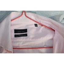 Camisa De Vestir Zara Talla M