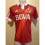 Camiseta River adidas 2012 2013 Roja Bbva C/ Detalle T. M