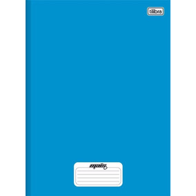 Caderno Brochurão Azul 96fls Mais C/ Pauta 05 Und. Tilibra