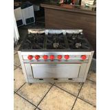 Cocinas industriales 6 hornallas usadas hornos y cocinas - Cocinas industriales usadas ...