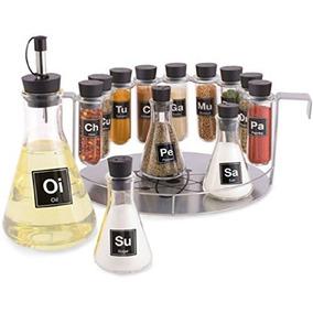 Spice Rack De Farmacia, 14 Piezas Química Estante De Especi