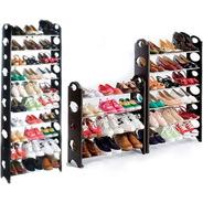 Rack Zapatera 10 Niveles 30 Pares Zapatos Facil