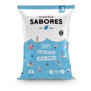 Chips Papas Rusticas Sal Marina X 90g