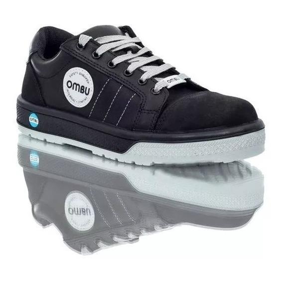Zapatilla De Trabajo Ombu Sneaker, Calzado De Seguridad