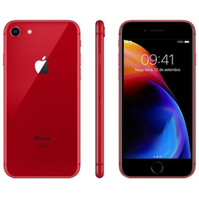 Apple Iphone 8 64gb Vermelho Edição Especial - Lacrado + Nf