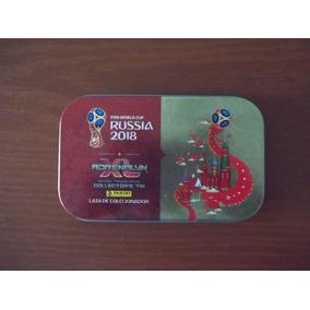 Lata Colecionador - Adrenalyn Xl - Copa Do Mundo 2018 Rússia