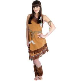 Indian Squaw Traje De Disfraz Femenino Oeste Salvaje - L (e