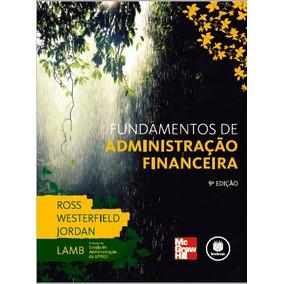 Fundamentos De Administração Financeira (rwj)