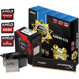 Combo Actualizacion Amd Apu A10 7860k + A68 C Hdmi+ 8gb Fury