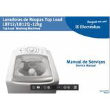 Manual Serviço Lavadora Electrolux Lbt12-lb12q Pdf E-mail Fr