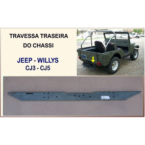 Travessa Traseira Do Chassi Jeep Willys Cj5 Cj3 Reprodução