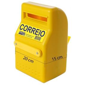 Caixa De Correio Pop, Plastica,pequena, Para Grade (141)