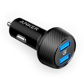 Carregador Veicular Anker Powerdrive Com 2 Portas Usb 3.0