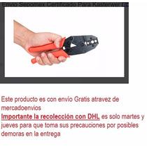 Pinza Ponchadora Para Conectores Rg6 Rg58 Rg59 Rg62 Coaxial