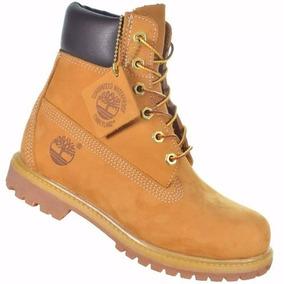 Bota Timberland Masculina Yellow Boot 6 Premium Bege Palha