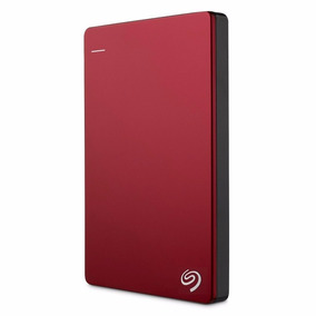 Disco Externo Seagate 1tb Backup Plus Usb 3.0 Rojo Portatil