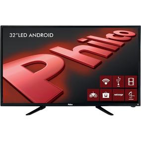 Smart Tv Led 32'' Philco Hd Conversor Digital 2 Hdmi