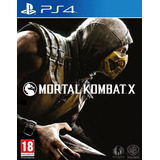 Mortal Kombat X Ps4 Fisico Juegos Original Sellado