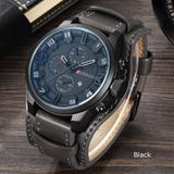 Reloj Militar Curren 8139 Envió Grati Análogo Brazaletepiel