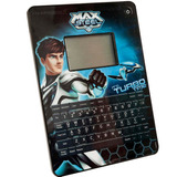 Tablet Infantil Touch Do Max Steel Candide 80 Jogos -inmetro