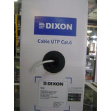 Cable Utp Dixon Cat6 9040 Caja 305 Mts