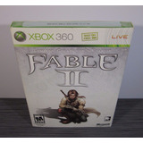 Fable Ii Nuevo Limited Collectors Edition Xbox360