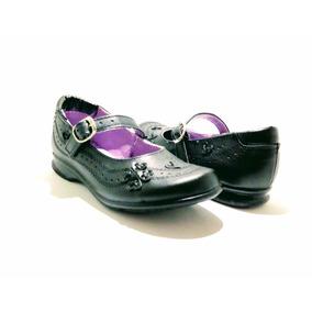 Zapato Escolar De Niña-mujer (talla Del 22 Al 26) Piel E400