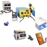 Kit Maquinas Elétricas Para Manutenção De Celular Yaxun...