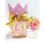 Realeza/ Princesa Luxo Caixa Meia Bala Castelo 30 Unid