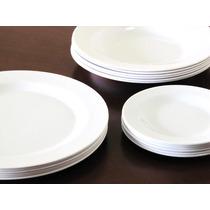 Jogo De Jantar Pratos Melamina 24 Peças Plastico