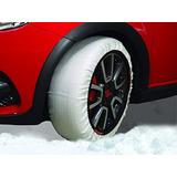 2 Cadenas Para Nieve,hielo Tela P,camionetas Uso Intensivo